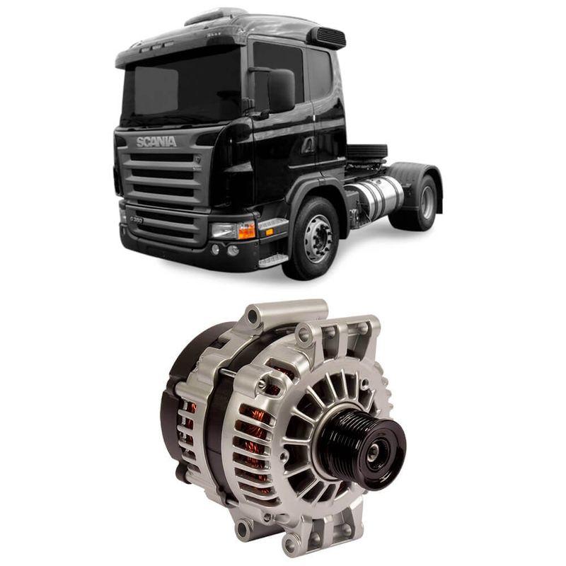 Alternador Scania Série G 2008 a 2017 Delco Remy