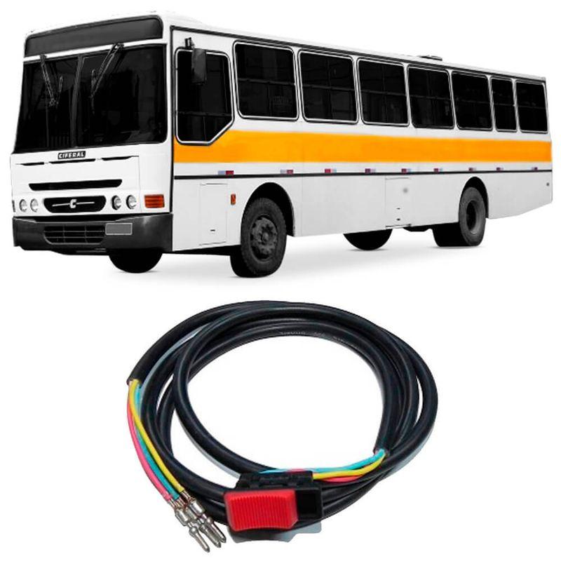 Botão Interruptor Reduzida Ônibus Ford B1621 96 a 99 Kostal 2105030