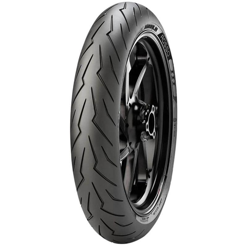 Pneu Moto Pirelli Aro 17 120/70r17 58w Dianteiro Diablo Rosso 3