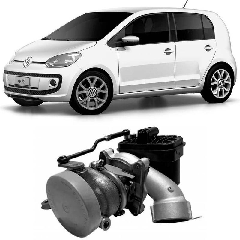 Turbina Motor Volkswagen Up TSi Ea211 2014 a 2018 Borgwarner