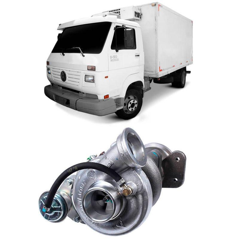 Turbina Motor 4.10TCA Volkswagen 8150 2000 a 2010 Borgwarner