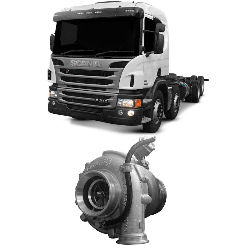 Turbina Motor DSC913-15 Scania P310 2012 a 2017 Borgwarner