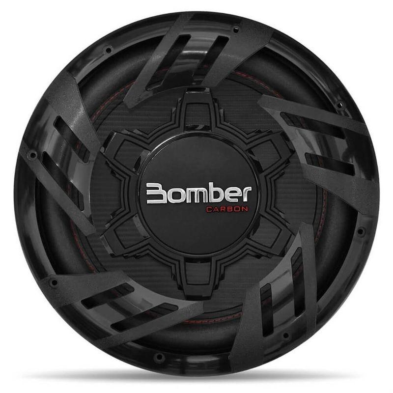 Subwoofer Bomber Carbon 12 Polegadas 250w Rms 4 Ohms Bobina Simples