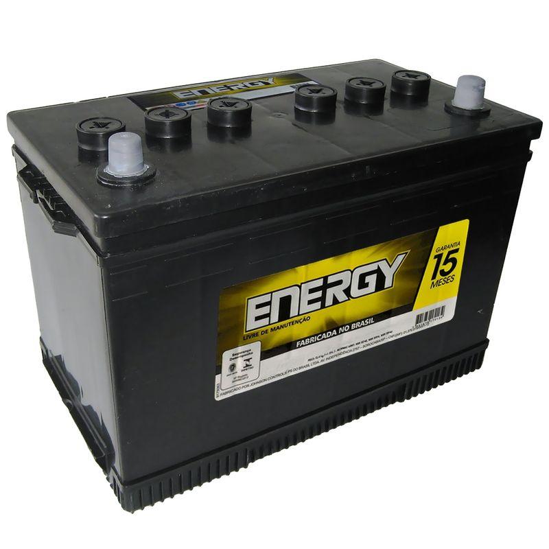 Bateria Carro Caminhão Energy Aberta 90 Amperes 12V