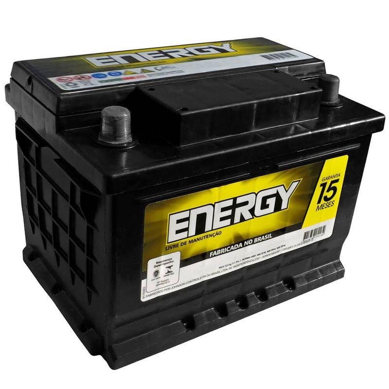 Bateria Carro Energy Selada 50 Amperes 12V