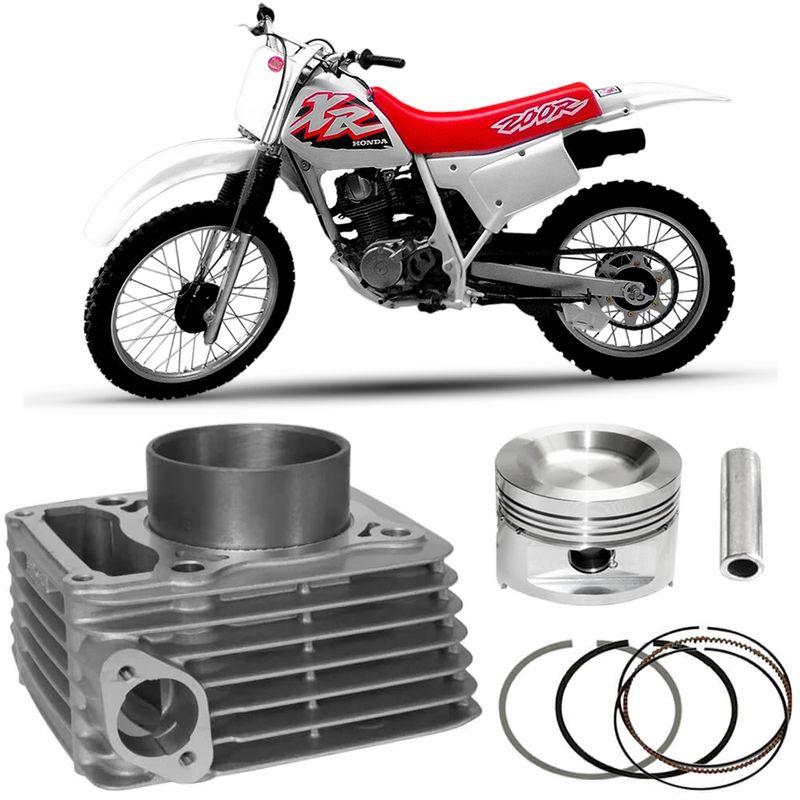 Kit Motor Cilindro Honda Xr 200 94 a 2000 Original
