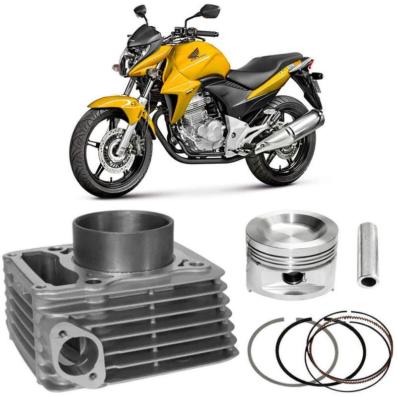Kit Motor Cilindro Honda Cb300 2009 a 2015 Metal Leve