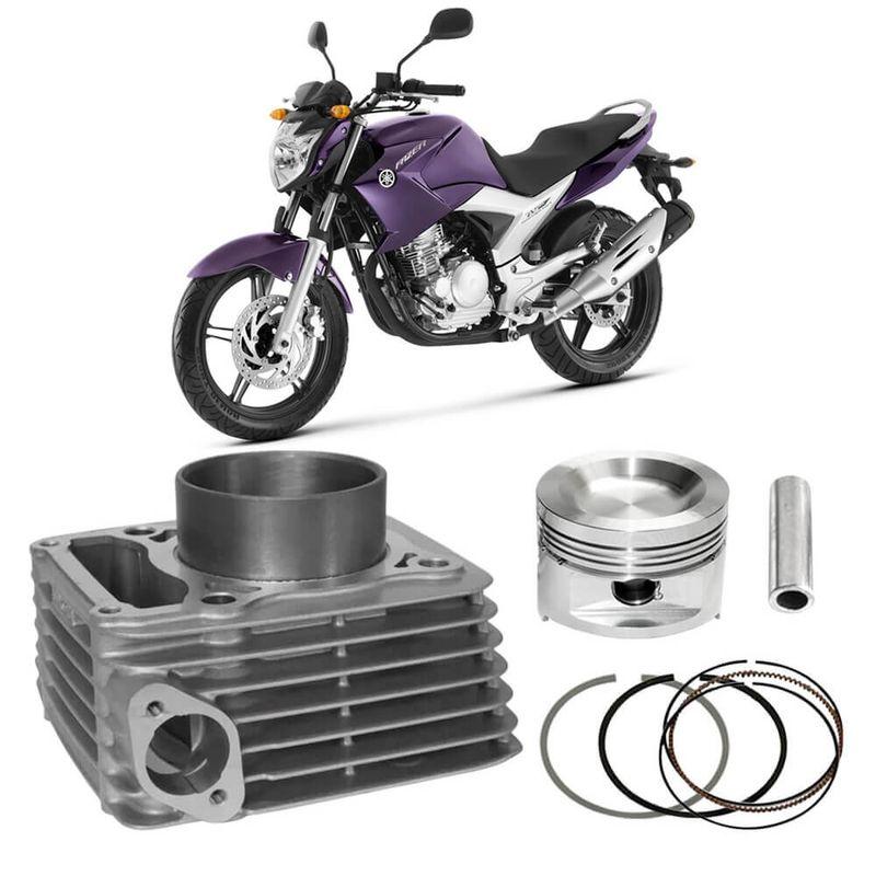 Kit Motor Cilindro Moto Yamaha Fazer Ys250 2006 a 2014