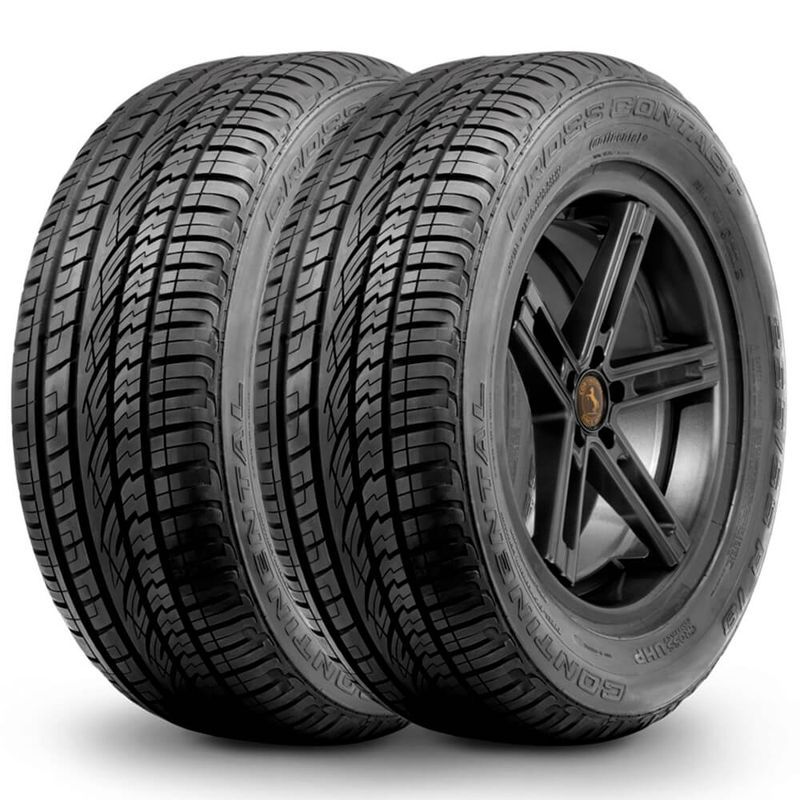 Kit 2 Pneu Continental Aro 20 275/40r20 106y Cross Contact Uhp