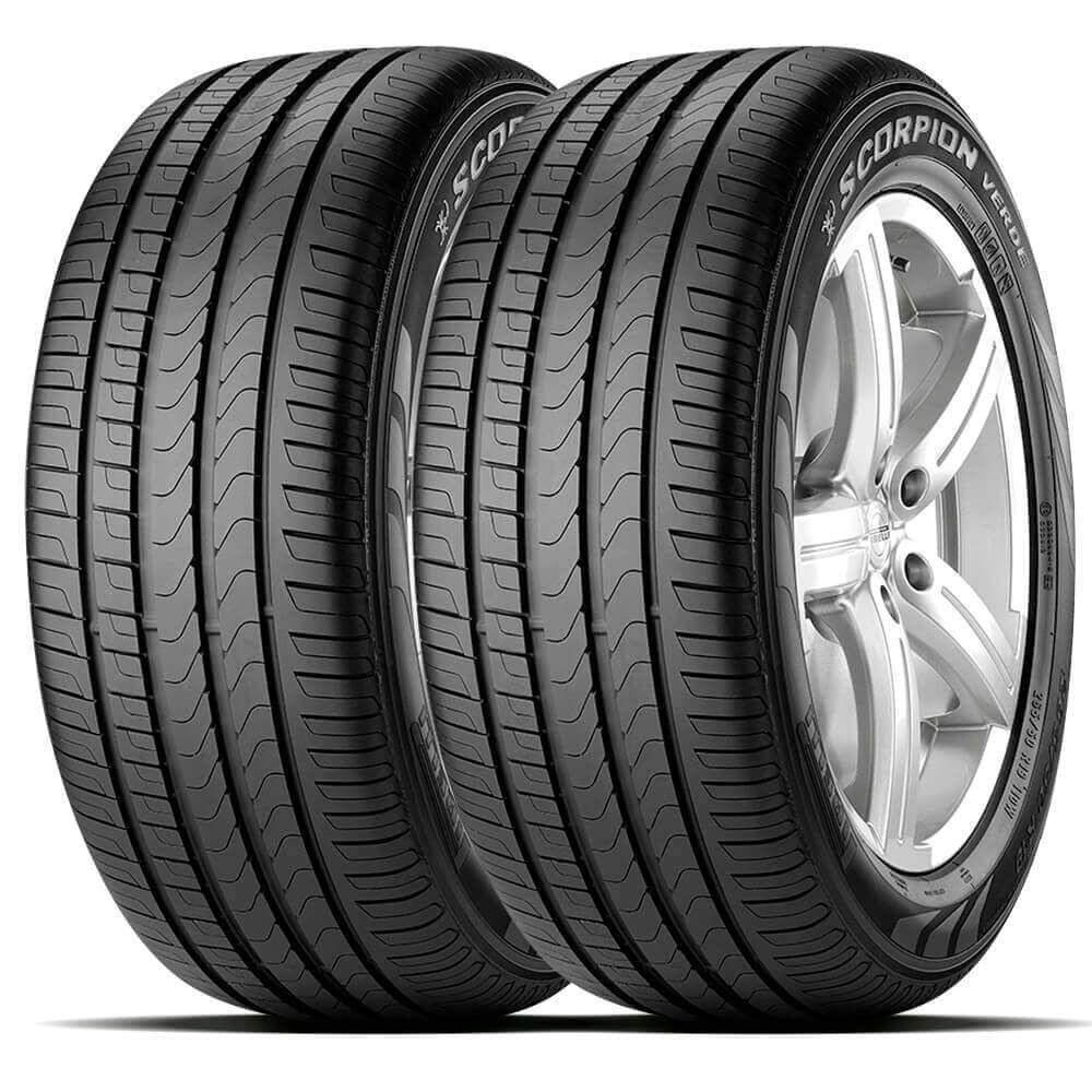 Pneu Pirelli Scorpion Verde Runflat 255/50 R19 107w - 2 Unidades