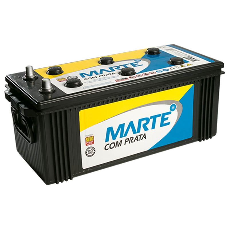 Bateria Caminhão Ônibus Marte Aberta 150Ah 12v