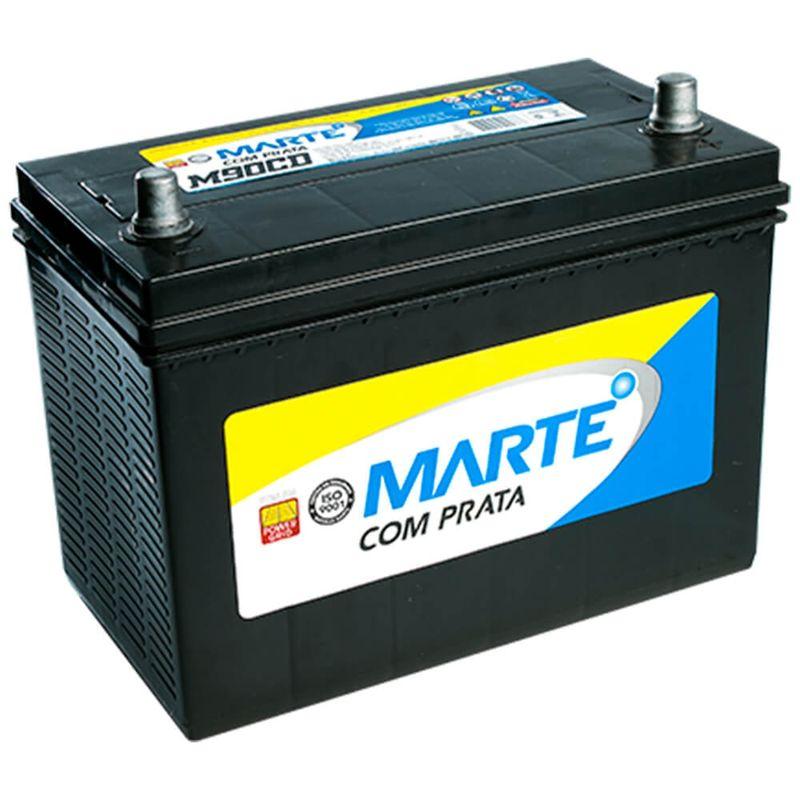Bateria Carro Caminhão Ônibus Marte Aberta 90Ah 12v