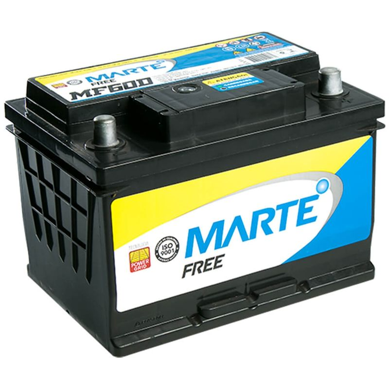 Bateria Carro Marte Aberta 60 Amperes 12v