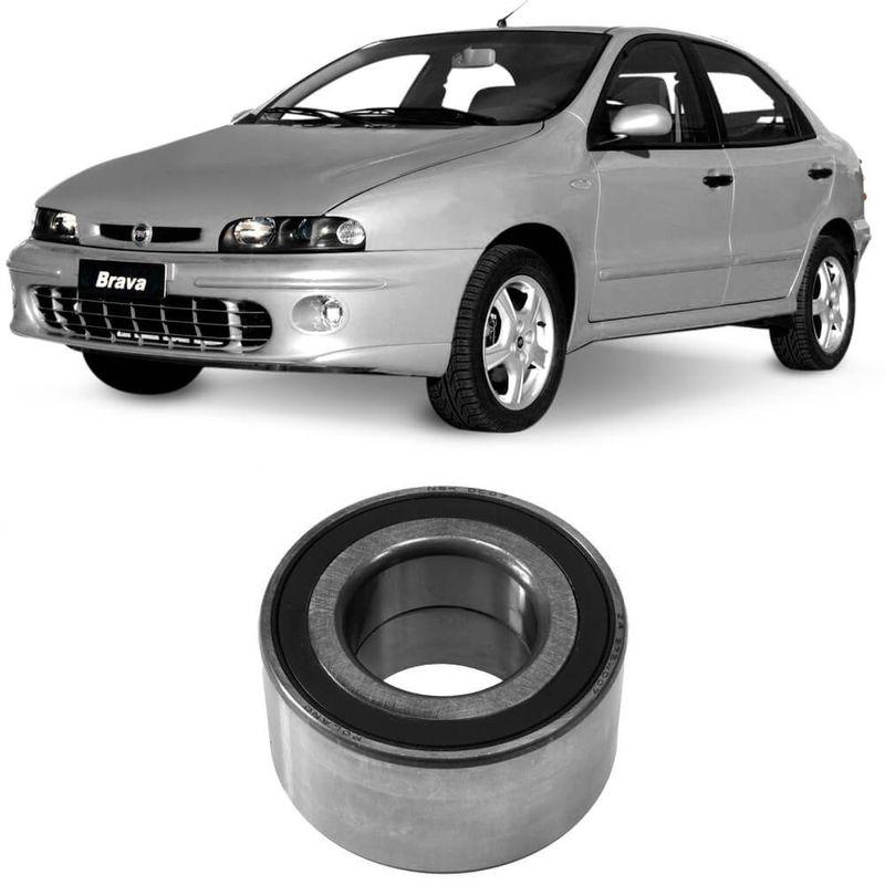 Rolamento Roda Fiat Brava 2000 a 2003 Dianteiro Sem Abs Nsk
