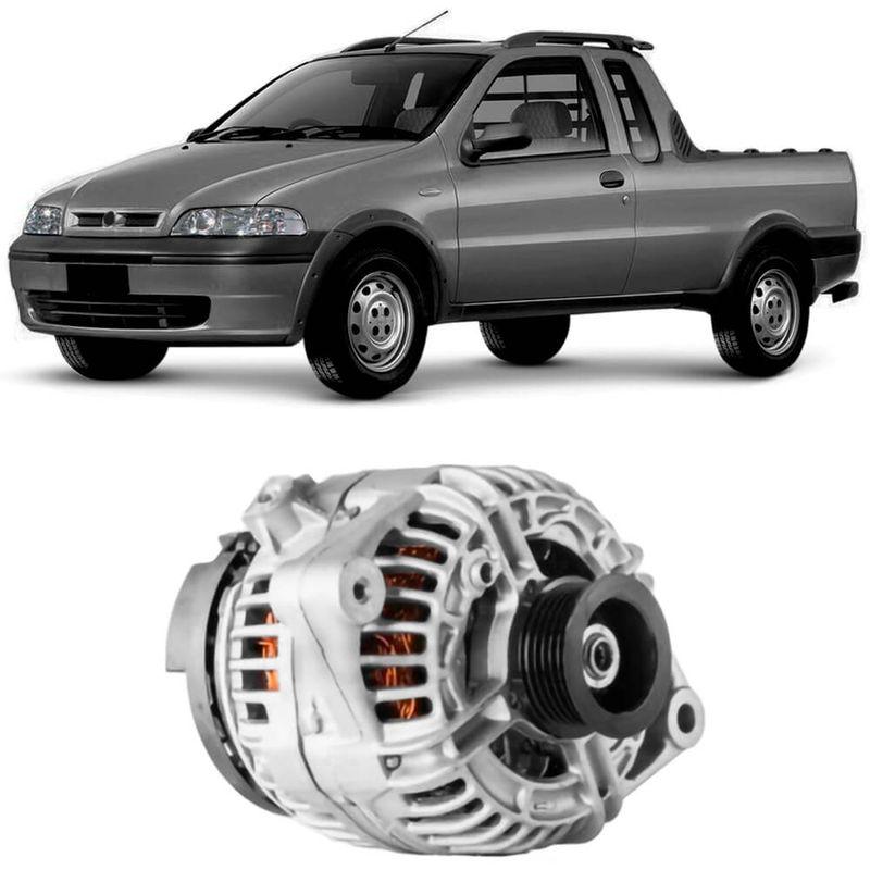 Alternador Fiat Strada 2003 a 2008 Bosch
