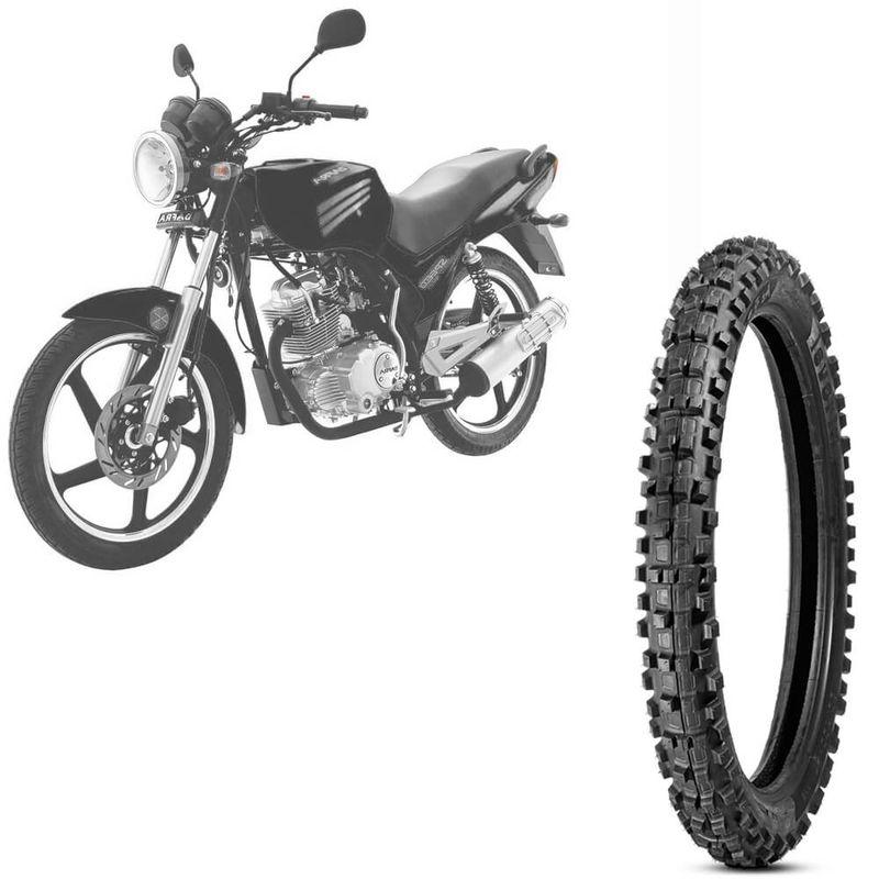Pneu Moto Speed 150 Levorin by Michelin Aro 18 2.75-18 Nhs Dianteiro Raptor