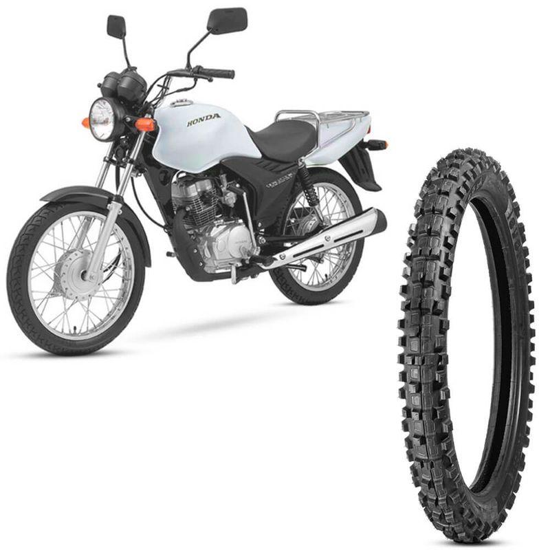 Pneu Moto Cg Cargo 125 Levorin by Michelin Aro 18 2.75-18 Nhs Dianteiro Raptor