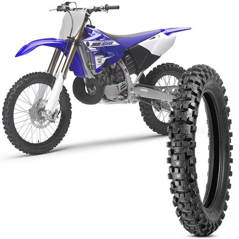 Pneu Moto Yamaha Yz 250 Levorin by Michelin Aro 19 110/90-19 Nhs Traseiro Raptor