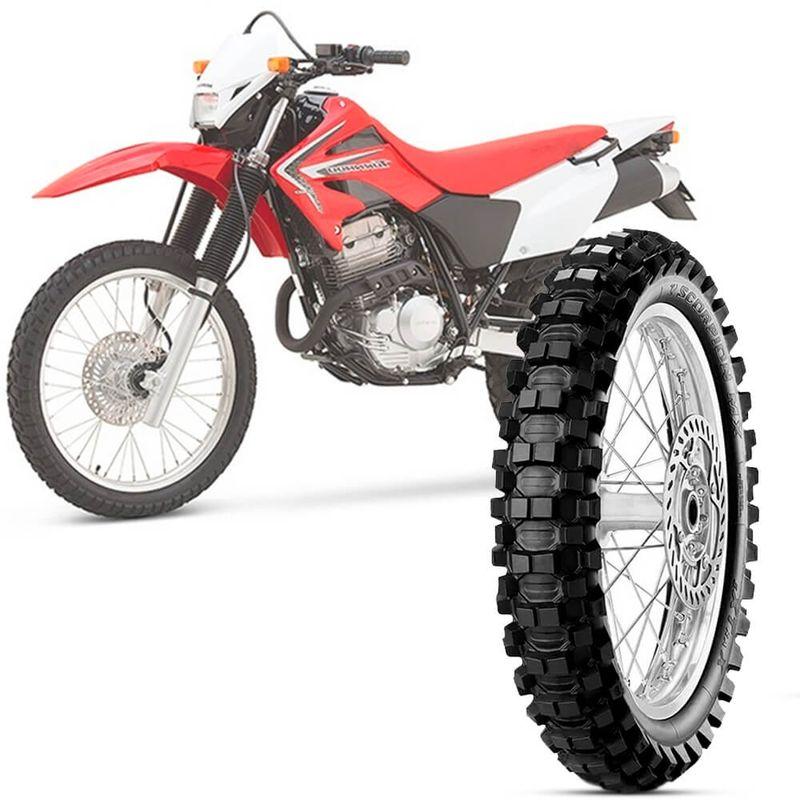 Pneu Moto Xr 250 Tornado Pirelli Aro 18 120/100-18 68m Traseiro Scorpion Mx Extra X