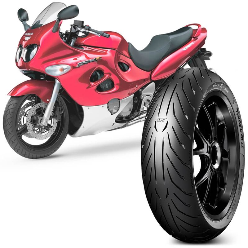 Pneu Moto Suzuki Gsx-R 750 Pirelli Aro 17 180/55-17 73w Traseiro Angel Gt 2