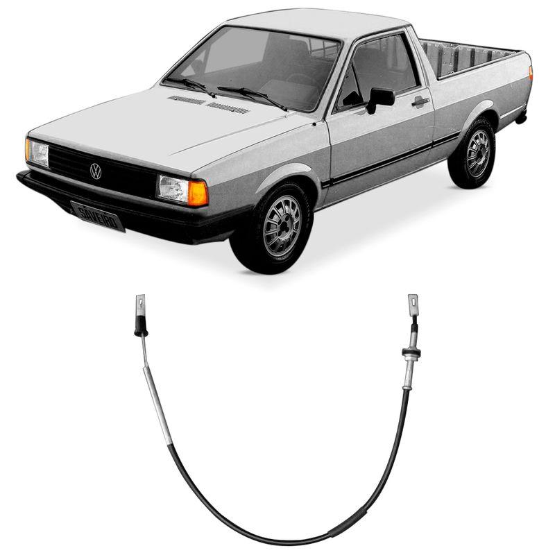 Cabo Embreagem Volkswagen Saveiro 82 a 87 Fania