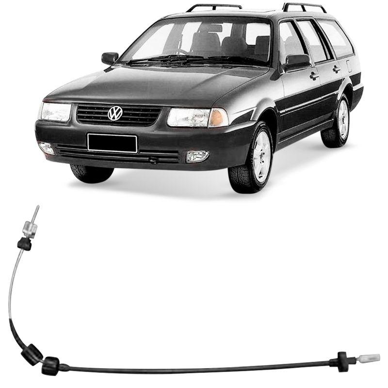 Cabo Embreagem Volkswagen Quantum 2000 a 2002 Fania 61496