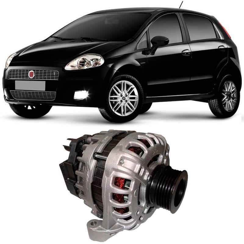 Alternador Fiat Punto 1.4 2008 a 2012 Bosch