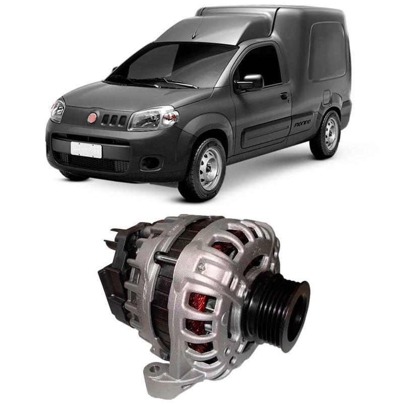 Alternador Fiat Fiorino 1.4 2014 a 2018 Bosch
