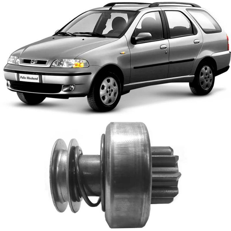 Bendix Impulsor Partida Fiat Palio Weekend 2000 a 2017 Bosch