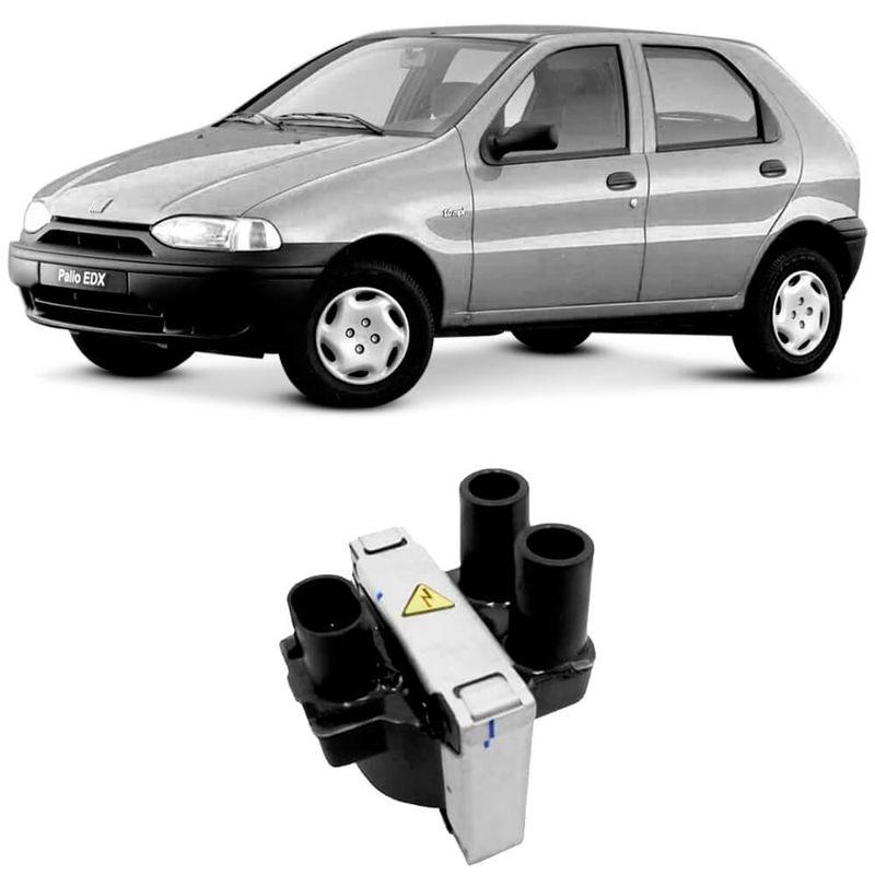 Bobina Ignição Fiat Palio 1.0 1.3 1.5 1.6 96 a 2004 Ngk