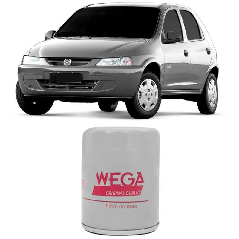 Filtro Óleo Chevrolet Celta 1.0 2001 a 2016 Wega