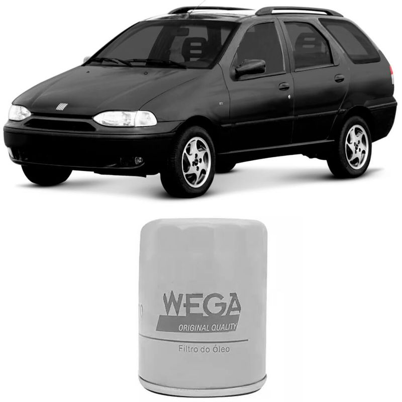 Filtro Óleo Lubrificante Fiat Palio 96 a 2000 Wega