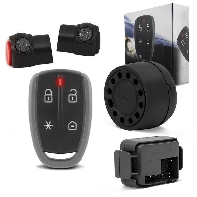 Alarme Automotivo Pósitron KeyLes 360 Funções Pânico Bloqueio Progressivo