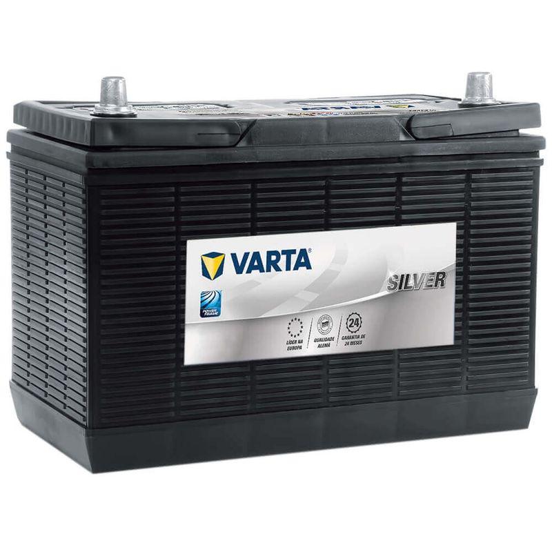 Bateria Caminhão Varta Selada 100 Amperes 12v Silver Automotivo CCA 750