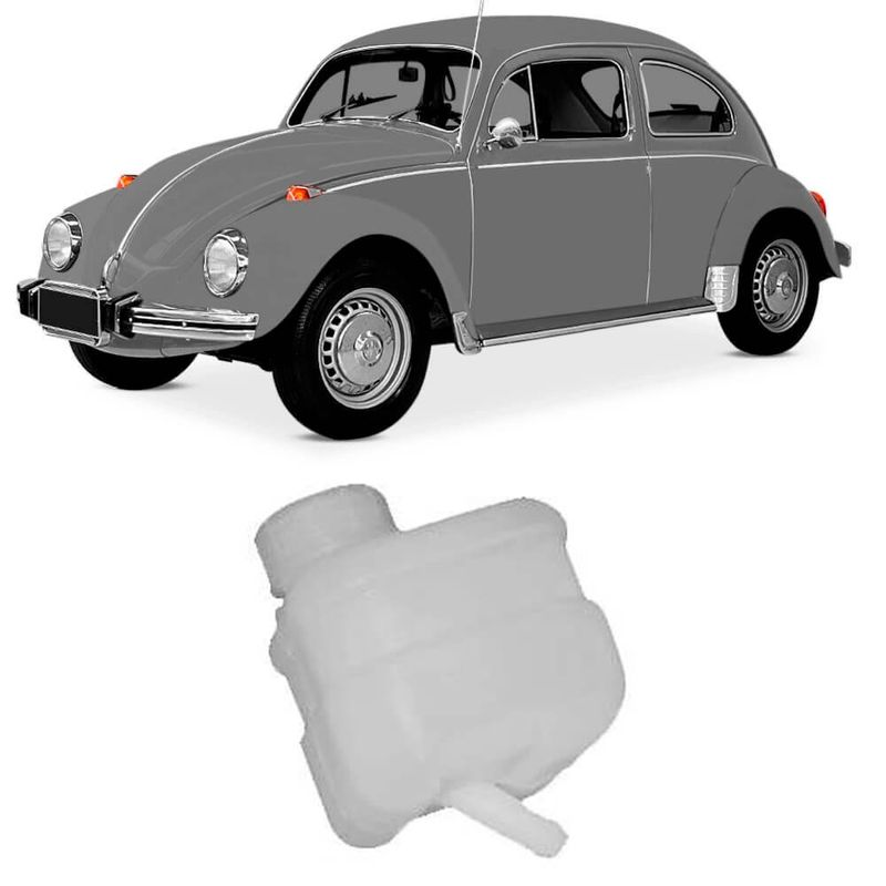 Reservatório Fluído Freio Volkswagen Fusca 70 a 75 Jahu