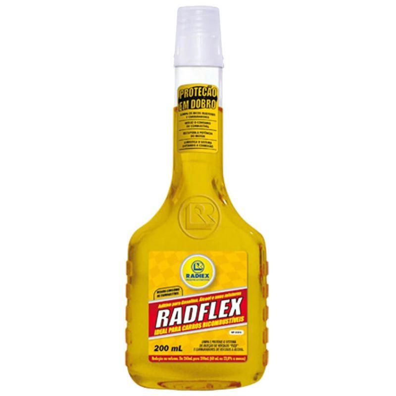Aditivo Combustível Radflex 200 ml Gasolina Radiex
