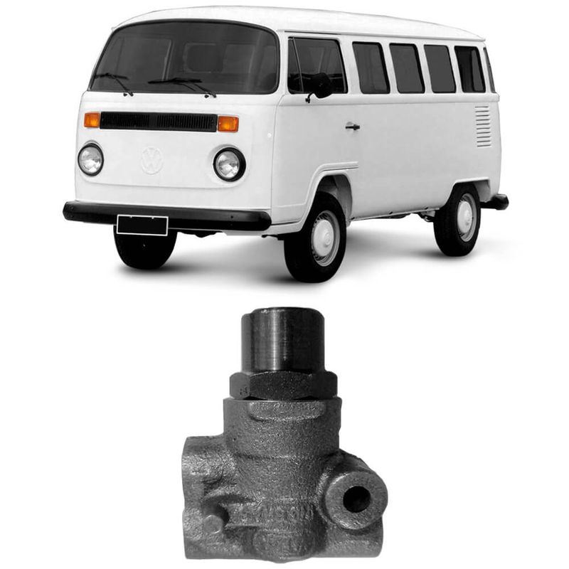 Válvula Reguladora Pressão Freio Volkswagen Kombi 82 a 2009 Trw