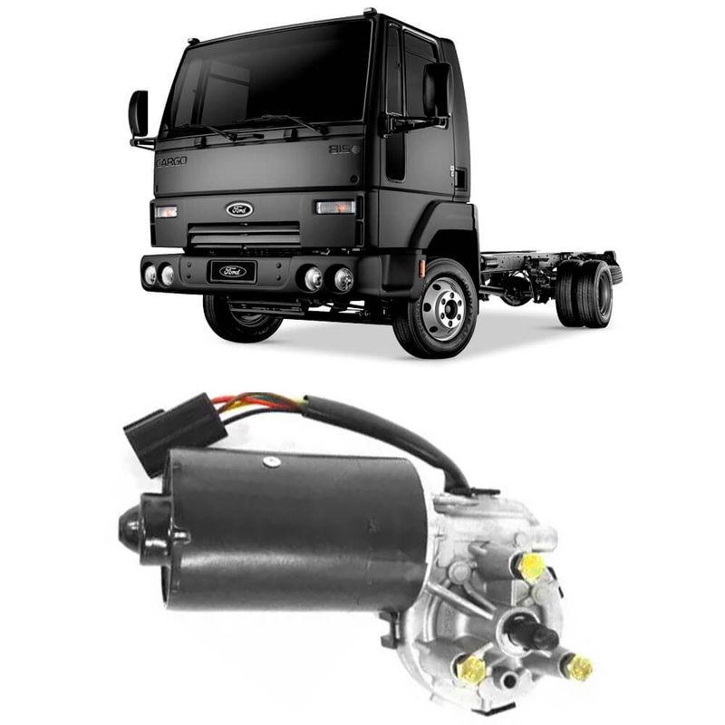 Motor Limpador Parabrisa Ford Cargo 86 a 2012 Dianteiro 12v Cemak