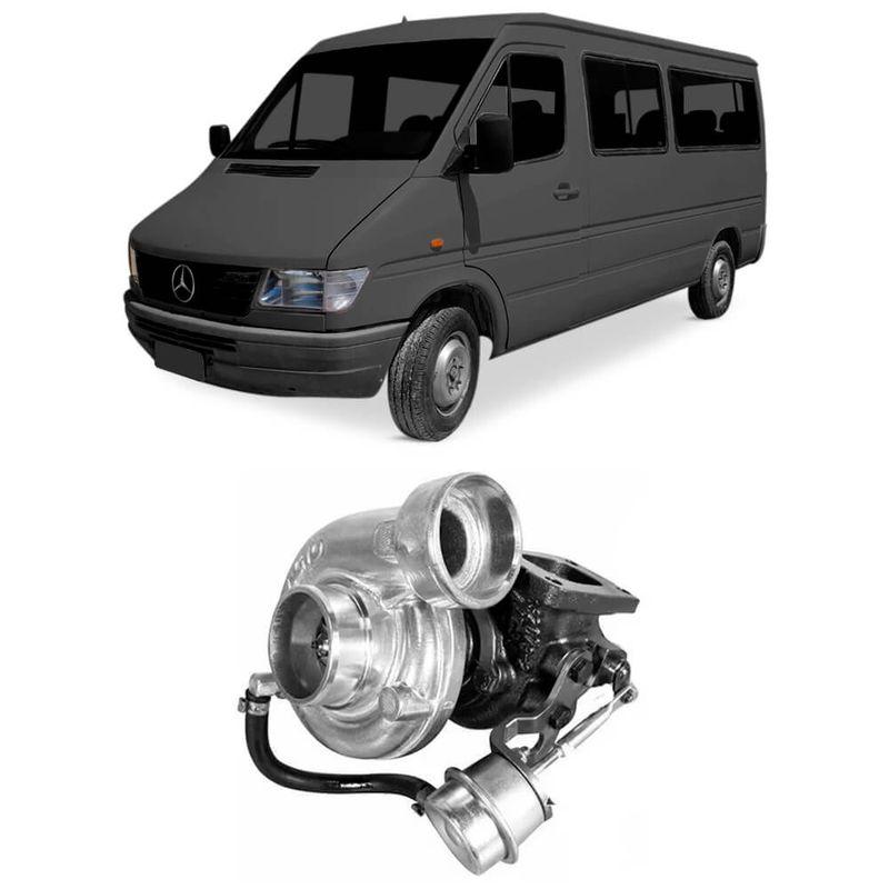 Turbina Motor OM014A Mercedes Benz Sprinter 310D 97 a 2000 Borgwarner