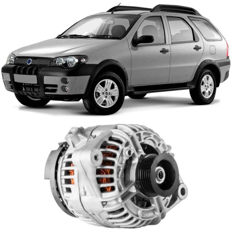 Alternador Fiat Palio Weekend 2003 a 2008 Bosch