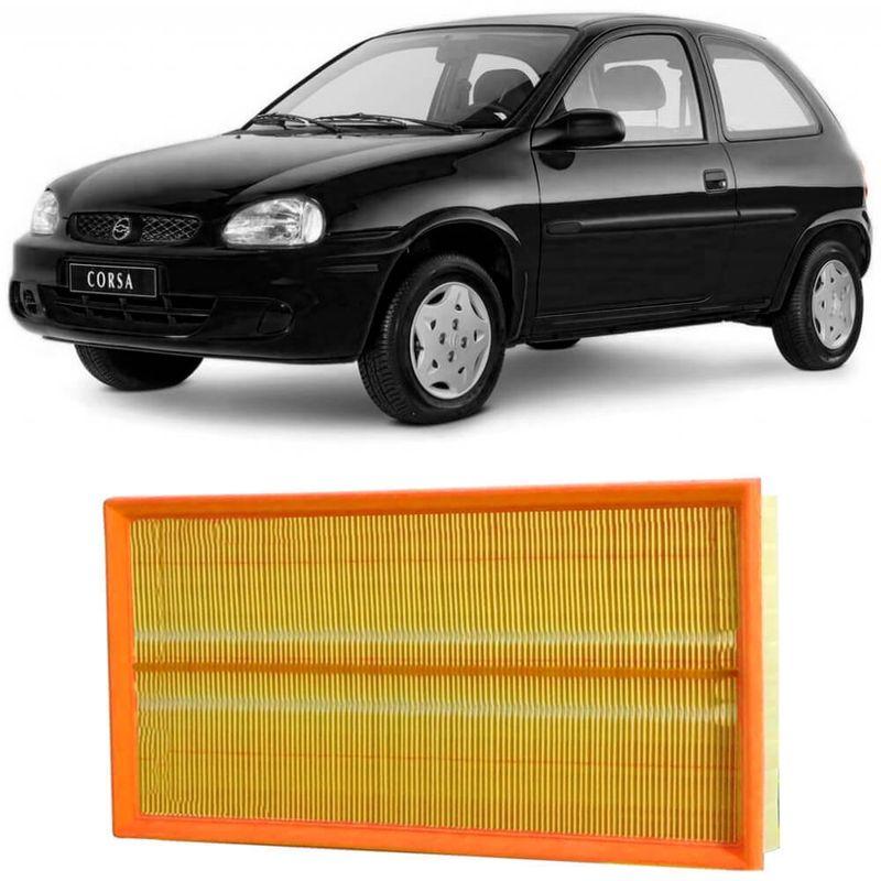 Filtro Ar Chevrolet Corsa Hatch 1.0 1.4 1.6 94 a 2005 Metal Leve