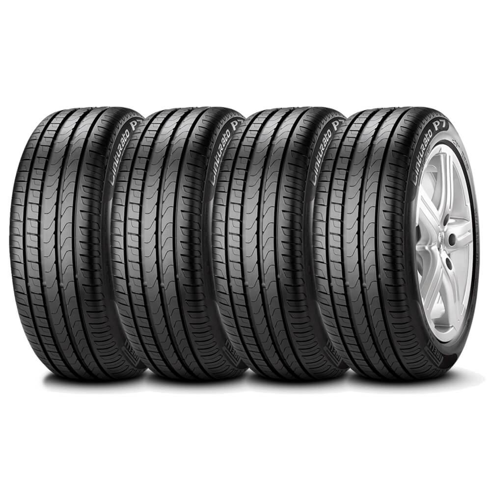 Pneu Pirelli Cinturato P7 Runflat 225/45 R17 91w - 4 Unidades