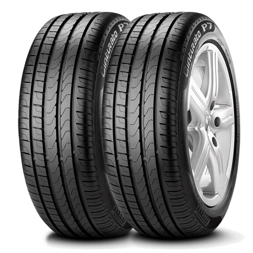 Pneu Pirelli Cinturato P7 Runflat 225/45 R17 91w - 2 Unidades