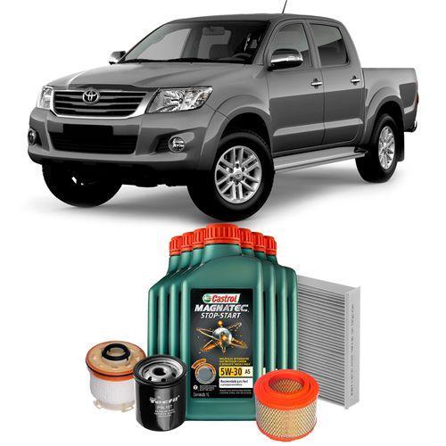kit-revisao-oleo-5w30-magnatec-castrol-filtros-tecfil-hilux-3-0-diesel-hipervarejo-2