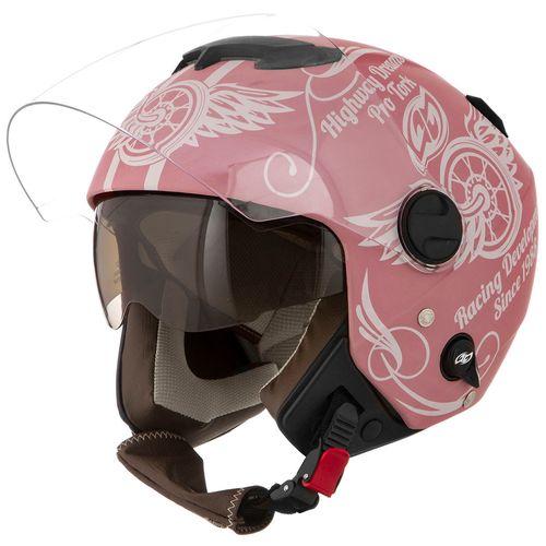 capacete-moto-aberto-pro-tork-new-atomic-highway-dreams-rosa-fosco-hipervarejo-1