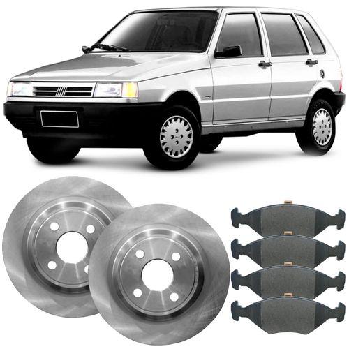 kit-pastilha-disco-freio-fiat-uno-85-a-2009-dianteiro-solido-trw-hipervarejo-2