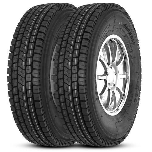 kit-2-pneu-durable-aro-22-5-295-80r22-5-152-148m-tl-borrachudo-dr623-hipervarejo-1