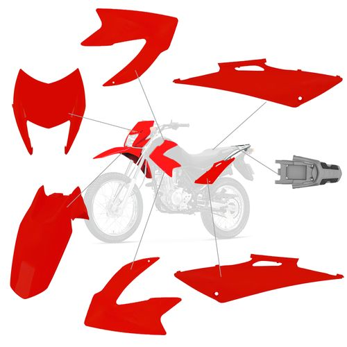 kit-carenagem-nxr-150-bros-2011-pro-tork-012-6015-vermelho-clivia-7-pecas-hipervarejo-2